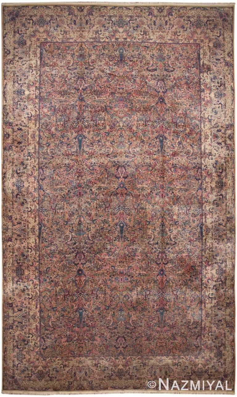 Antique Persian Kerman Rug 46399 Detail/Large View