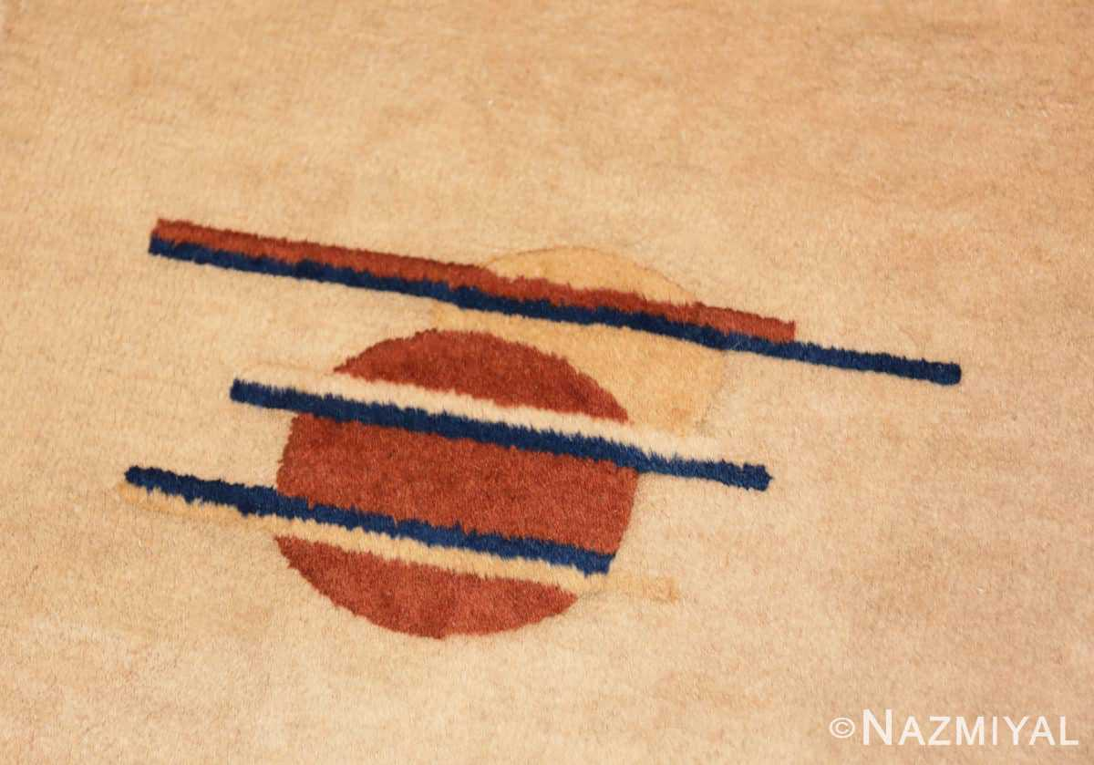 Detail Chinese Art Deco rug 46368 by Nazmiyal