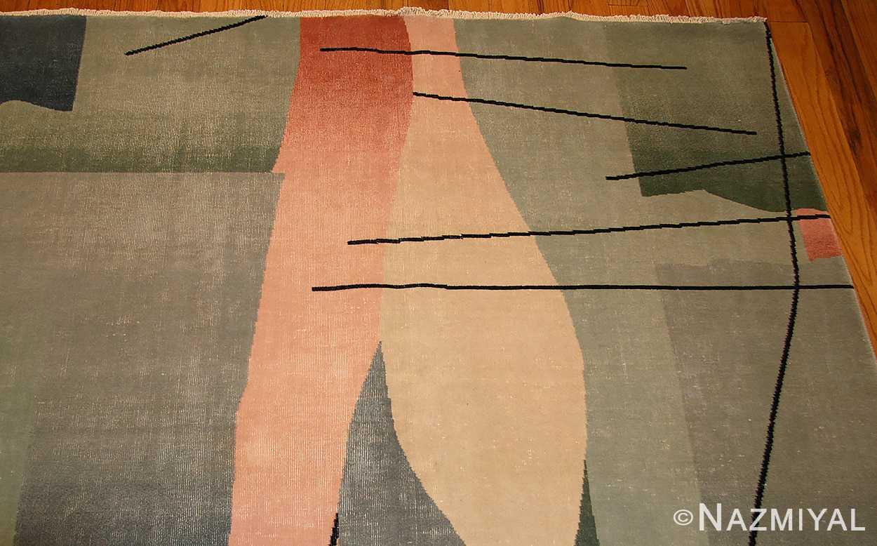 vintage chinese deco rug 46252 border Nazmiyal