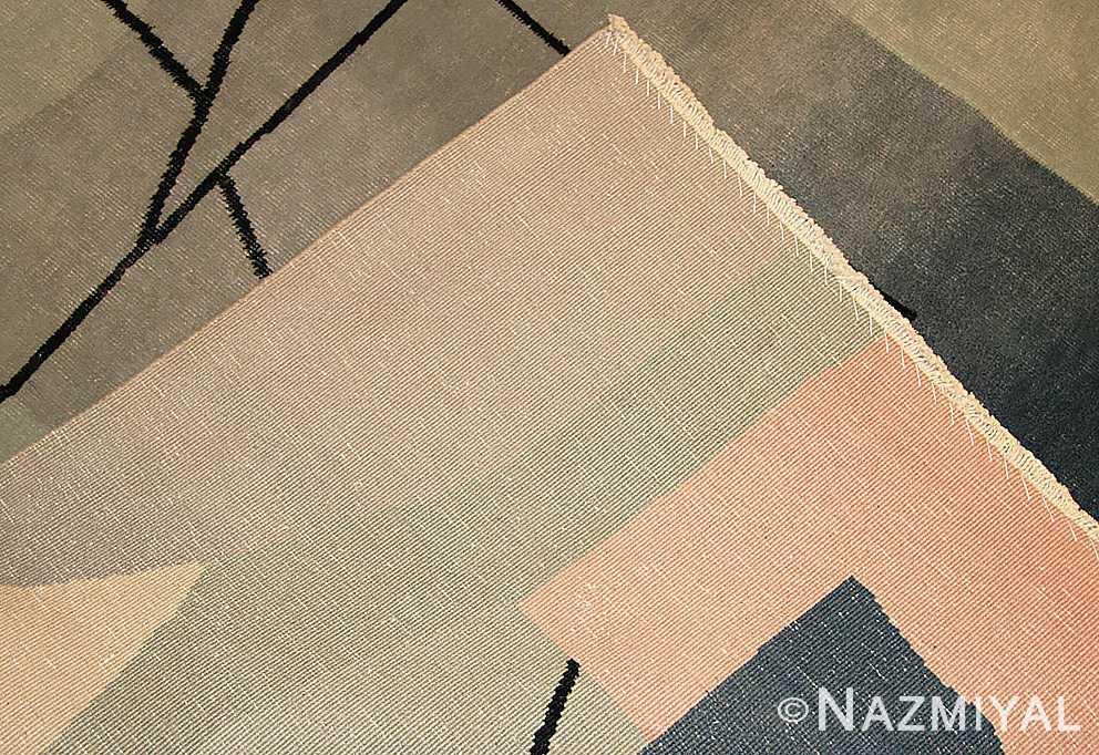vintage chinese deco rug 46252 weave Nazmiyal