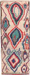 Vintage Moroccan Rug 46515 Detail/Large View