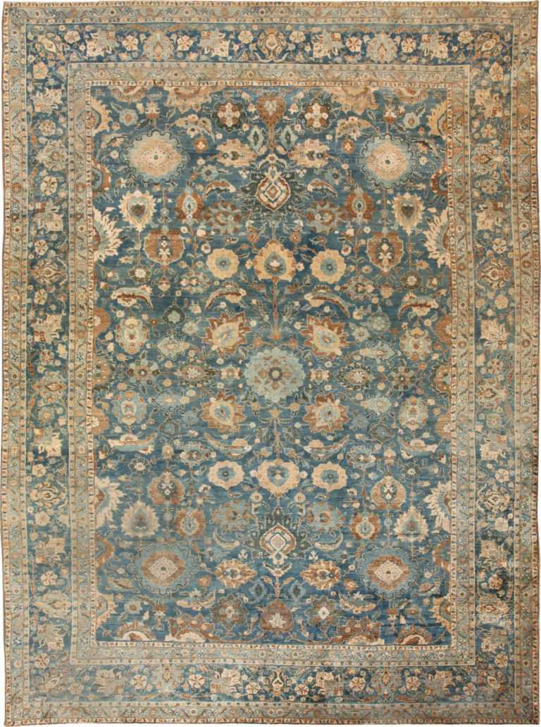 Antique Tabriz Persian Rug 46522 Detail/Large View
