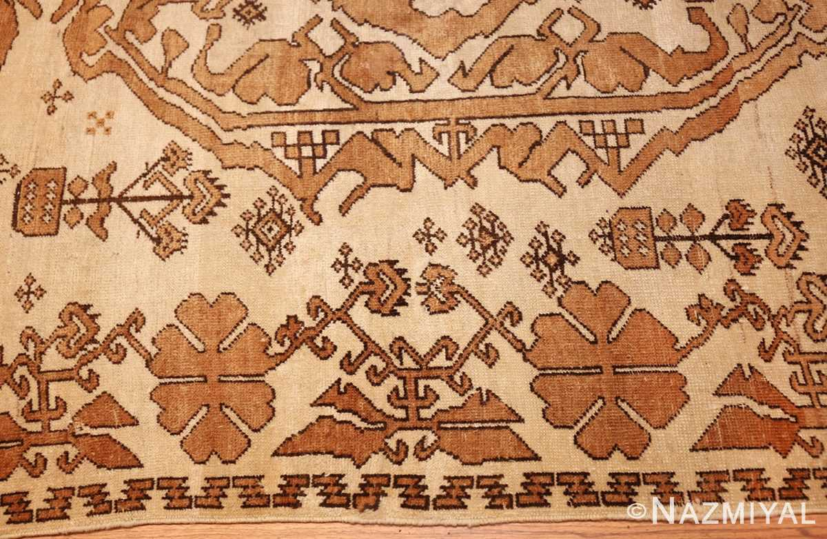 antique afghan rug 46228 border Nazmiyal