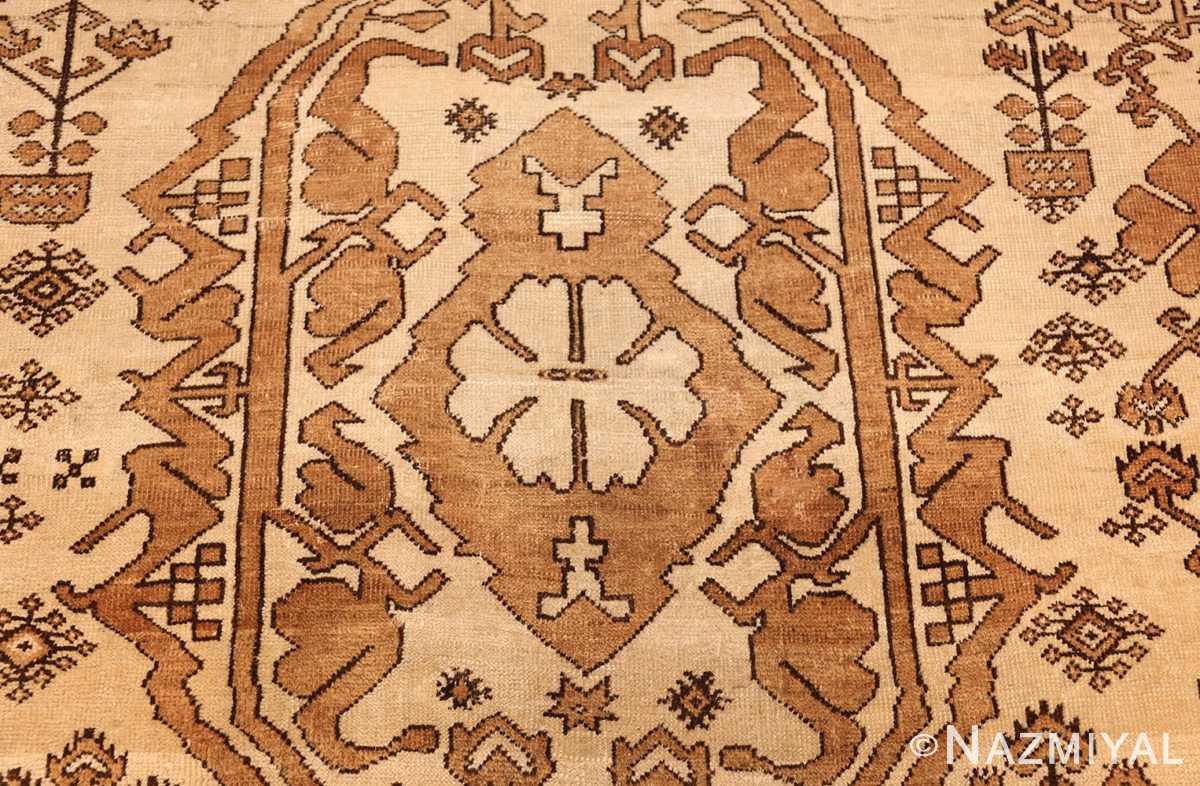 antique afghan rug 46228 medallion Nazmiyal