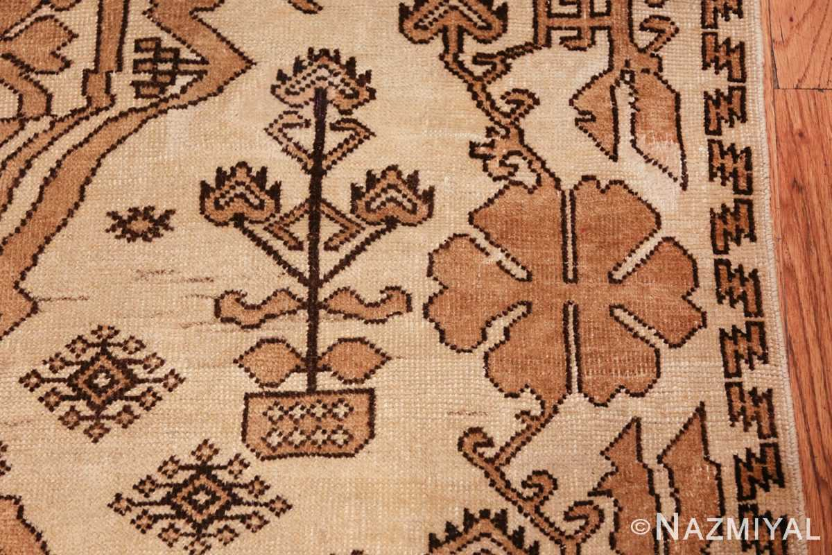 antique afghan rug 46228 side Nazmiyal