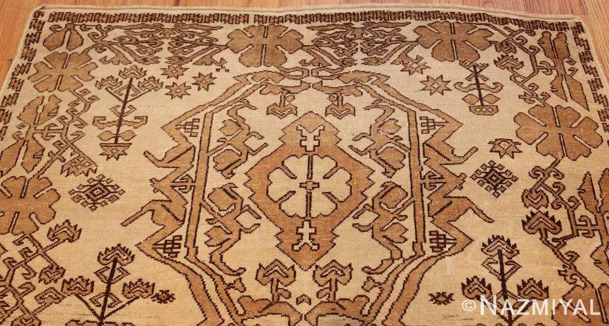 antique afghan rug 46228 top Nazmiyal