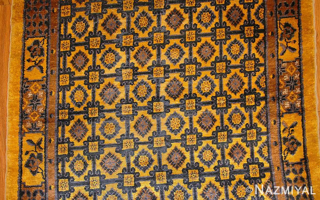 antique silk chinese rug 46229 field Nazmiyal