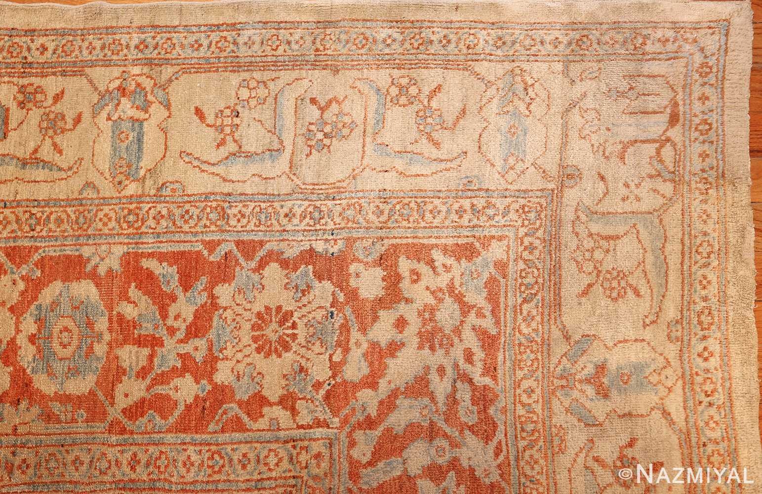antique ziegler sultanabad rug 46452 corner Nazmiyal