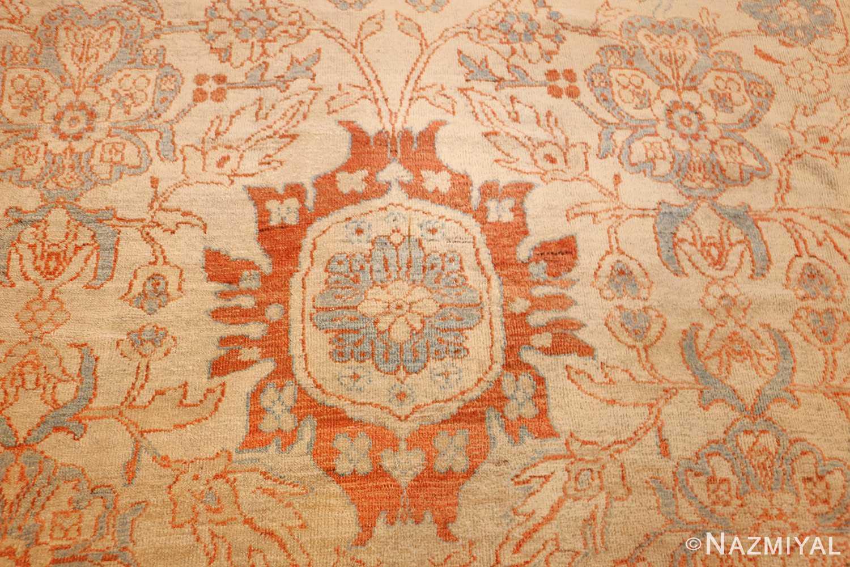 antique ziegler sultanabad rug 46452 red Nazmiyal