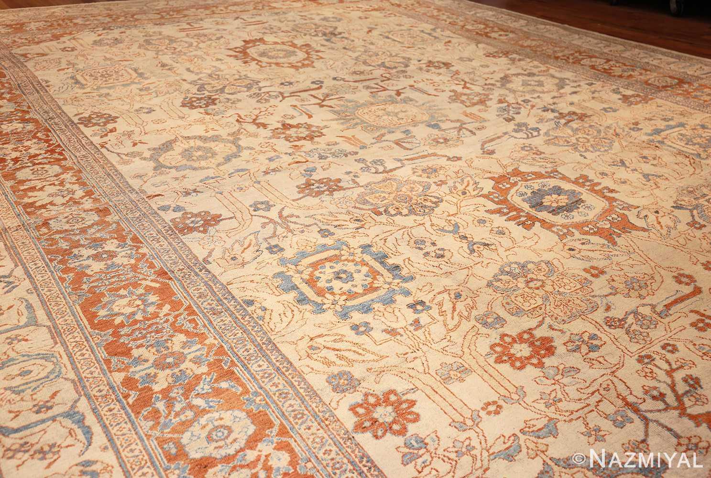 antique ziegler sultanabad rug 46452 side Nazmiyal