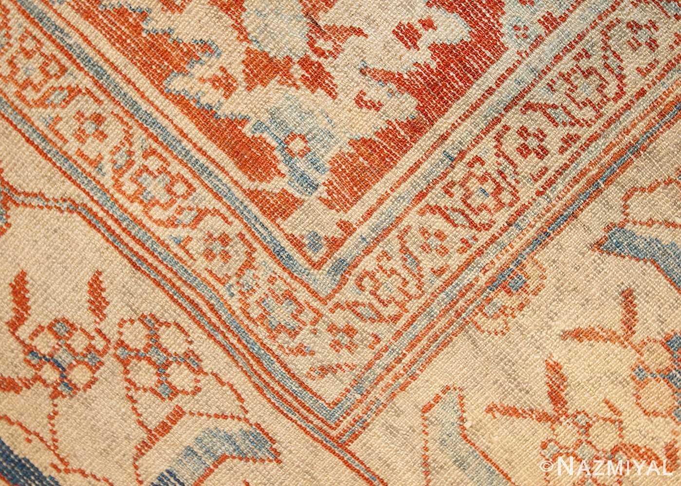 antique ziegler sultanabad rug 46452 weave Nazmiyal