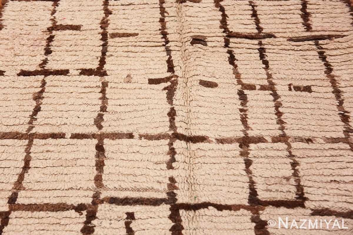 Background Vintage Moroccan rug 46515 by Nazmiyal
