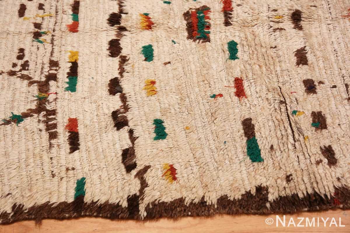 Border Vintage Moroccan rug 46433 by Nazmiyal