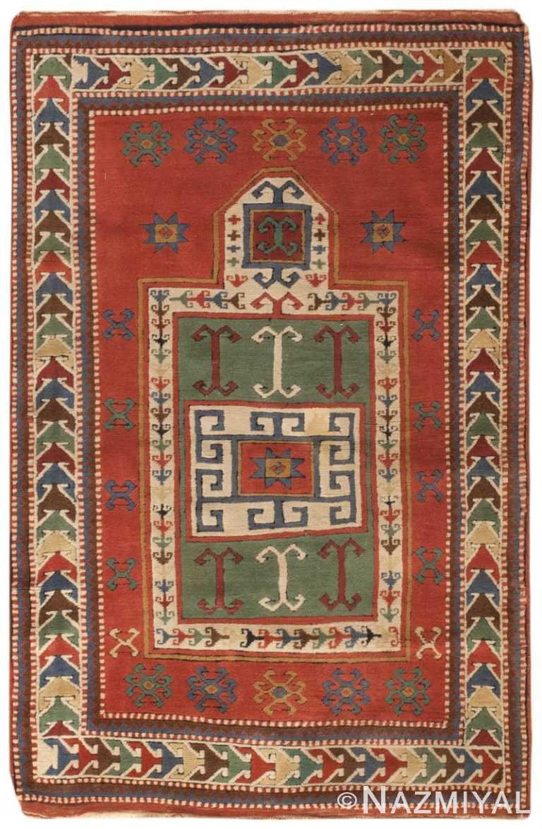Antique Caucasian Kazak Rug 46484