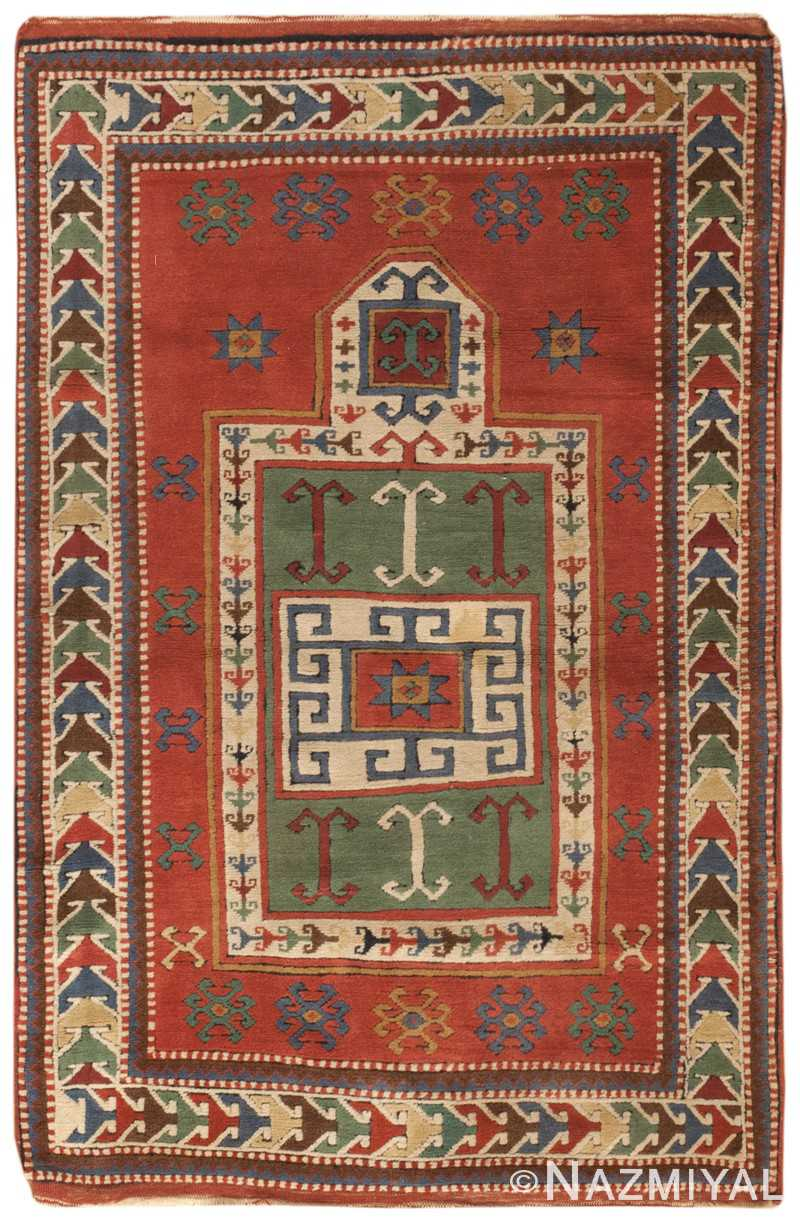 Antique Caucasian Kazak Rug 46484