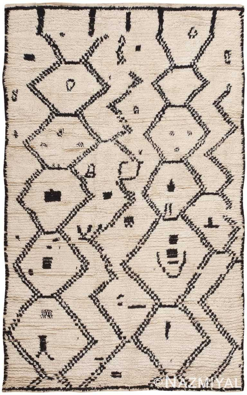 Vintage Moroccan Rug 46498 Detail/Large View