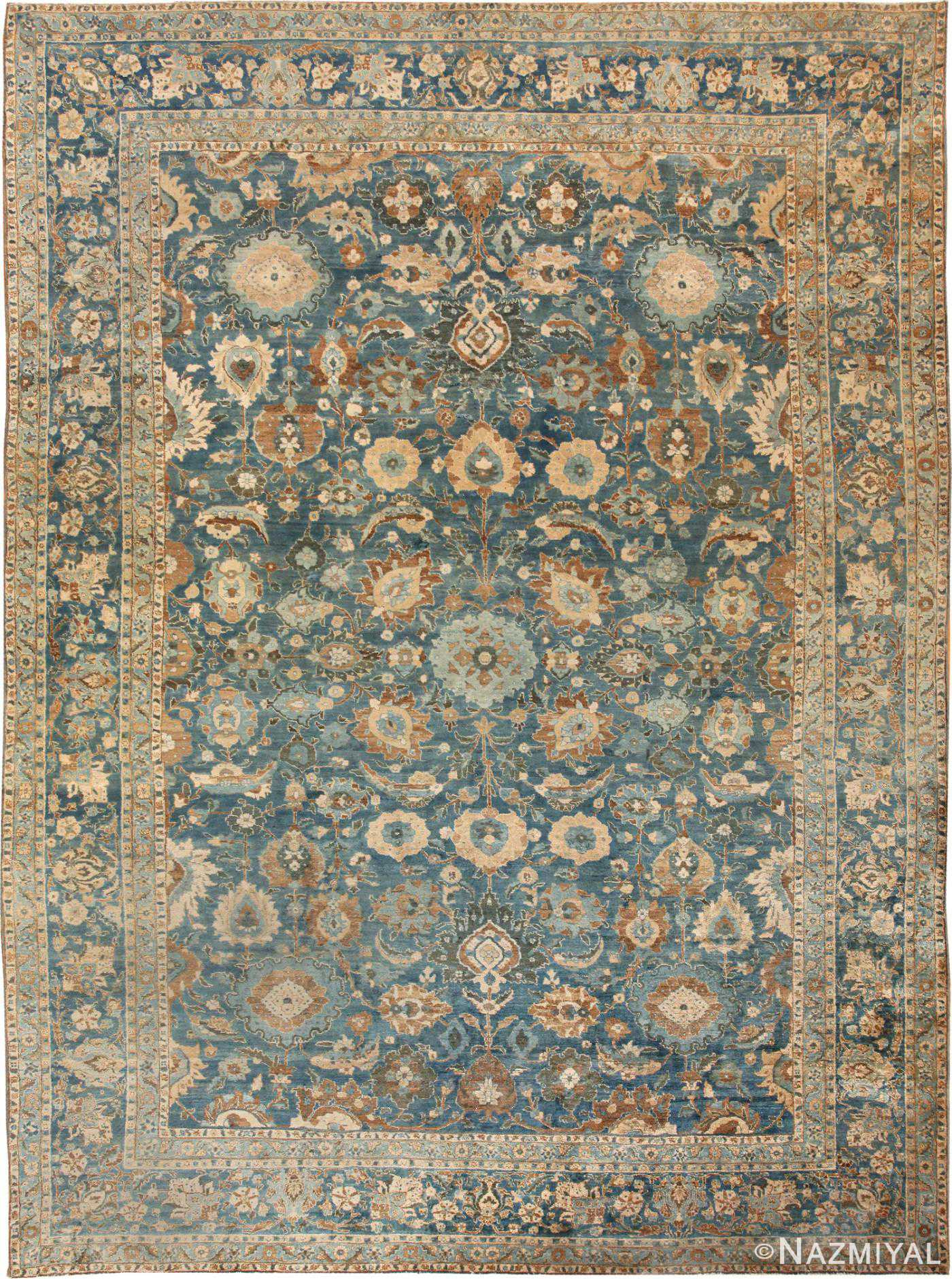 Antique Tabriz Persian Rug 46522 Detail/Large View