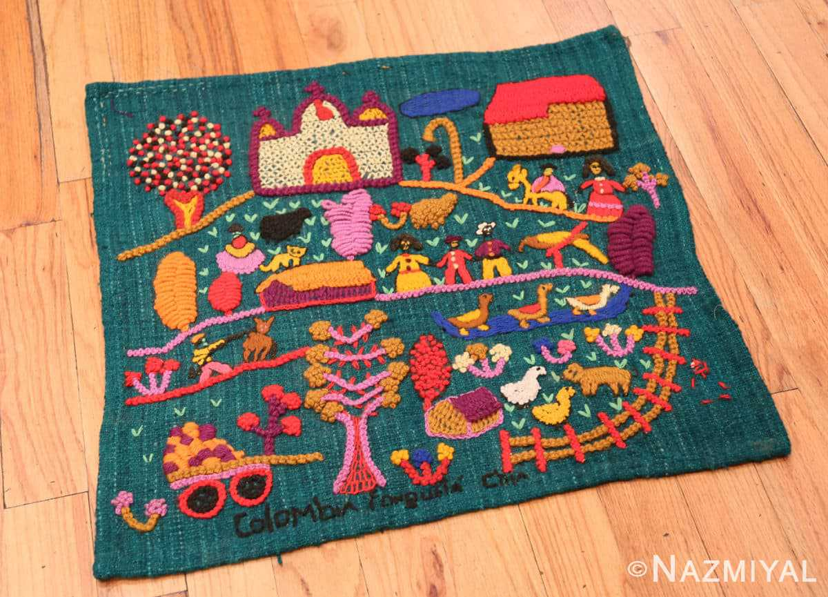 Full Vintage Colombian embroidery 46453 by Nazmiyal