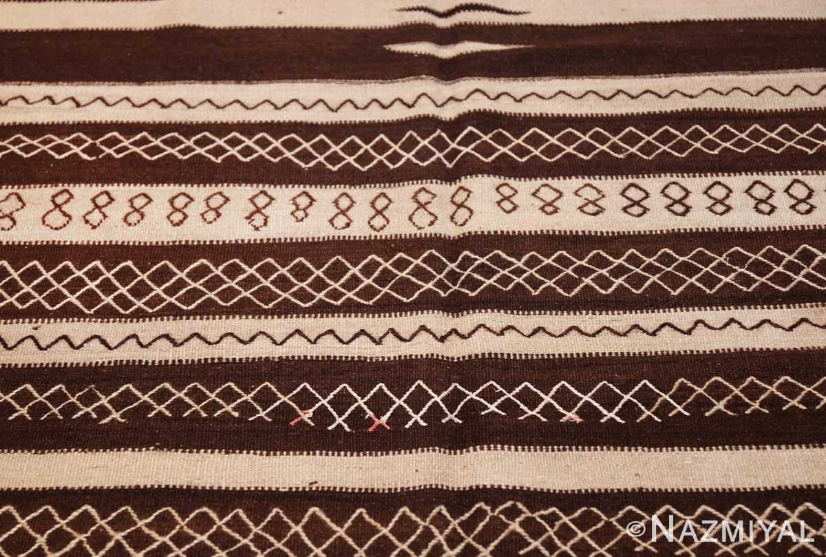 north african vintage moroccan kilim rug 46478 cool Nazmiyal