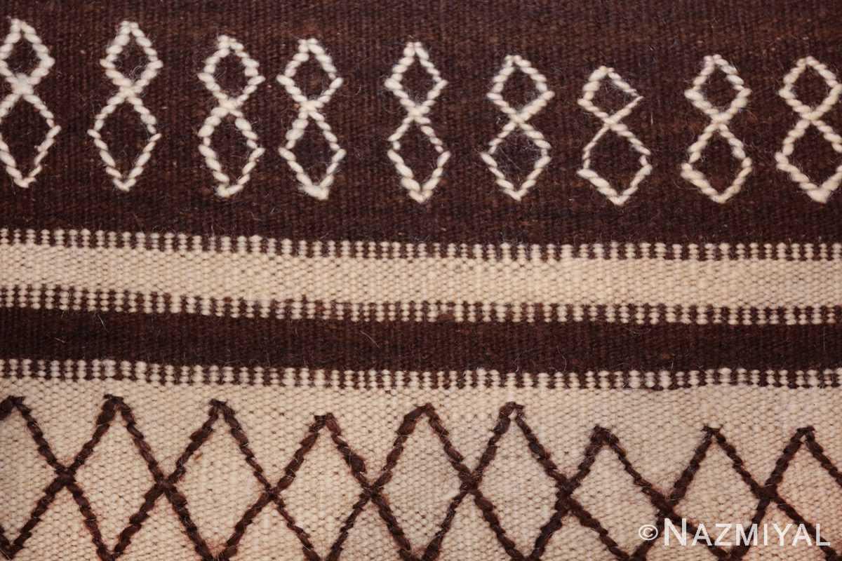 north african vintage moroccan kilim rug 46478 eights Nazmiyal