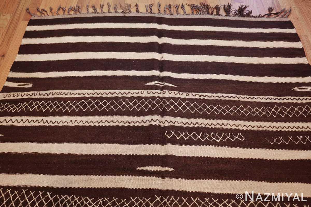 north african vintage moroccan kilim rug 46478 top Nazmiyal
