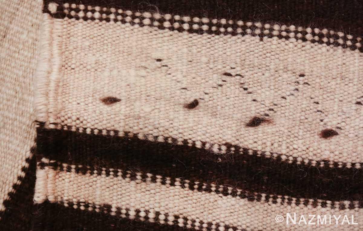 north african vintage moroccan kilim rug 46478 weave Nazmiyal
