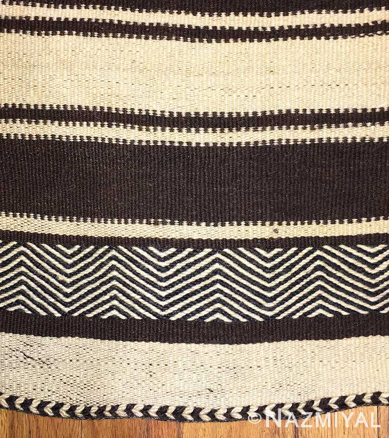 Detailed 2 - Vintage Moroccan Kilim Rug 46468