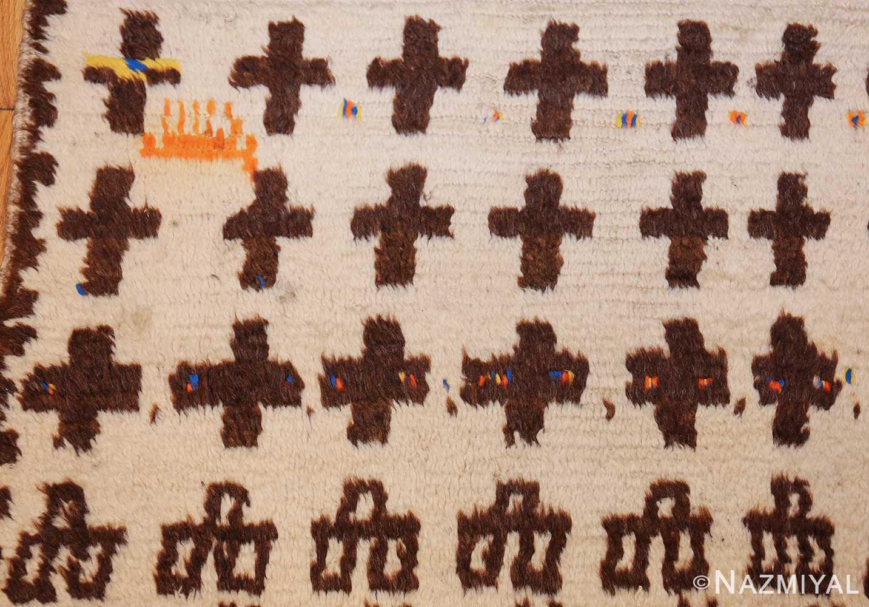 vintage moroccan rug 46434 animal Nazmiyal