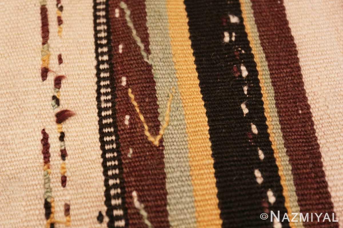 Weave detail Moroccan rug 46471 by Nazmiyal