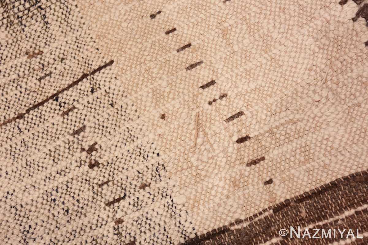 Weave detail Vintage Moroccan rug 46515 by Nazmiyal