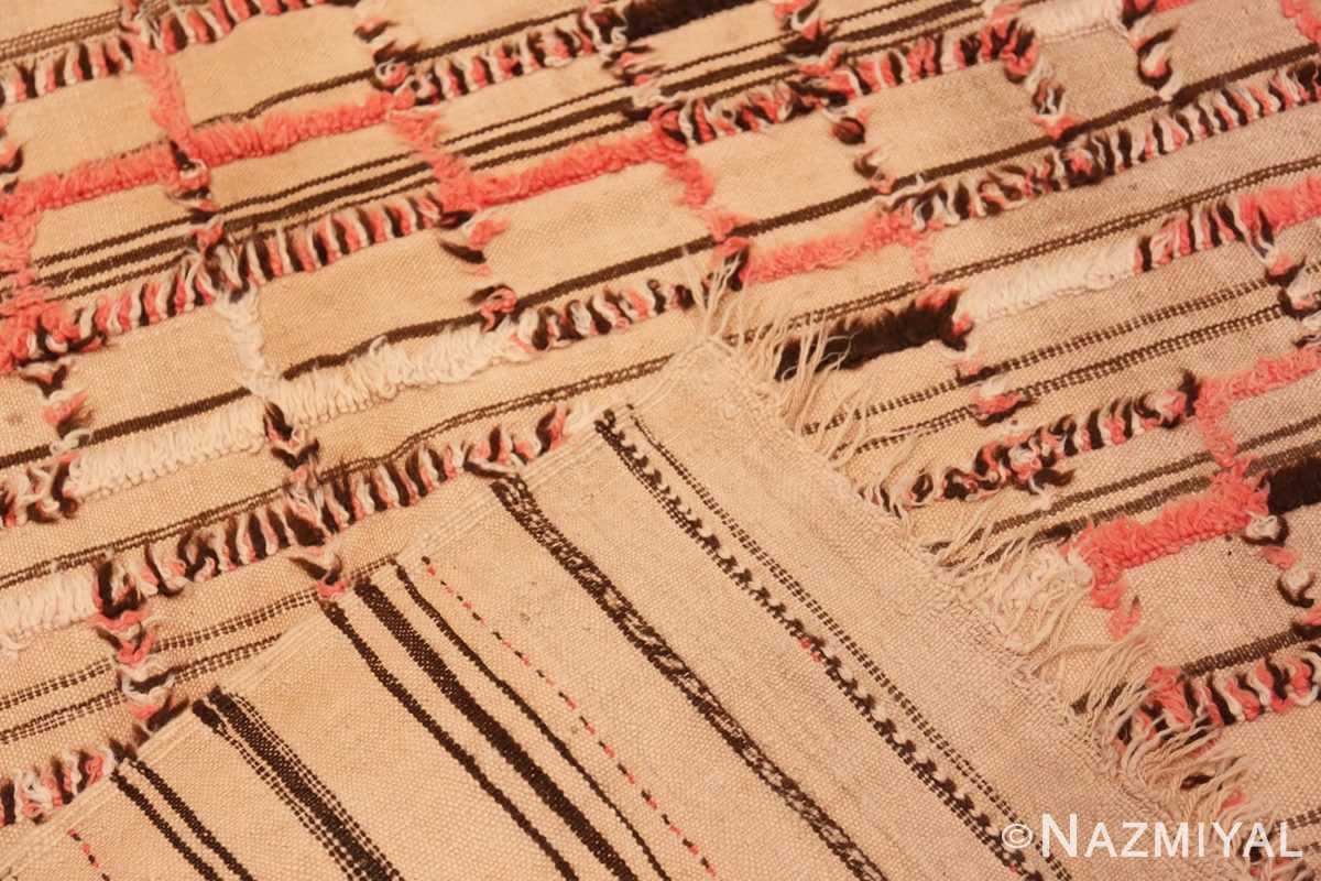 Weave long and Narrow Vintage Kilim Moroccan rug 46513 by Nazmiyal