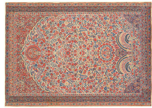 Kashmir 'Millefleurs' Shawl at the Asia Society Nazmiyal