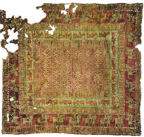 Pazyryk Carpet Oldest Rug In The World Nazmiyal Blog