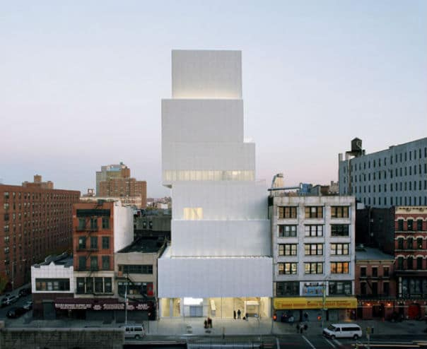 New York Architectural Design - New Museum Nazmiyal