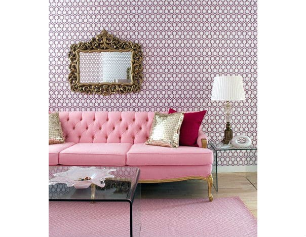 Reds, Pinks and Purples Interior Design Home Color Trends