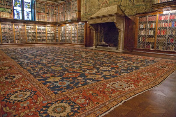 Whitney Museum Rug That Was Sold to the Morgan Library