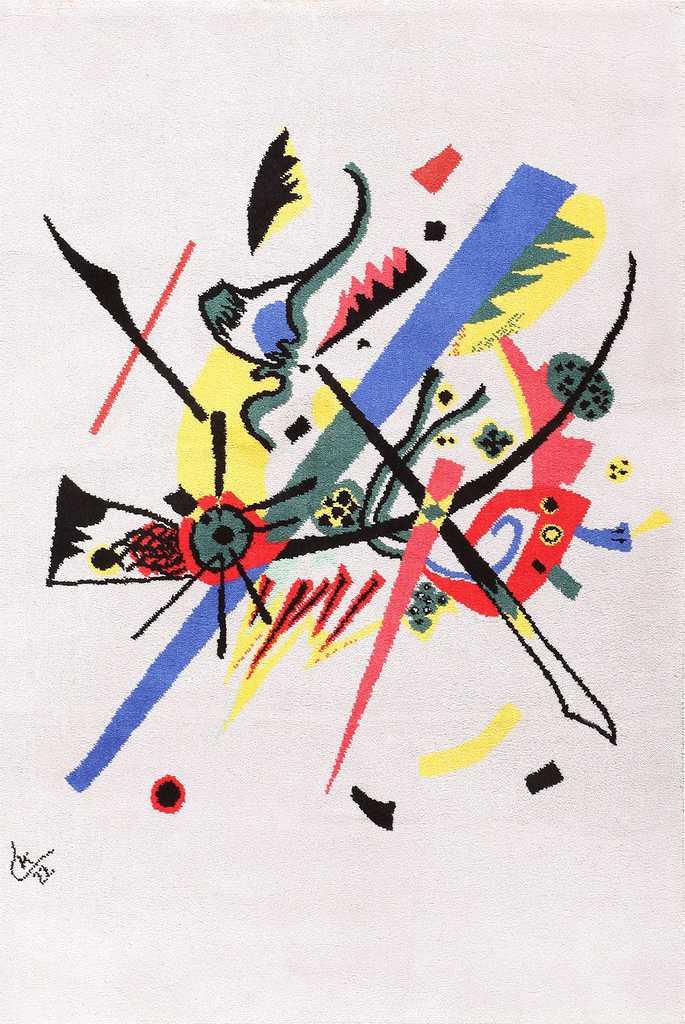 Bauhaus Rug Inspired by Kandinsky Small Worlds 47388