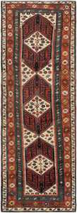 Antique Caucasian Runner Rug 46425 Nazmiyal