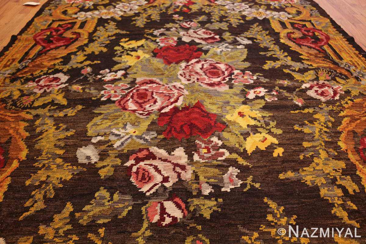 antique bessarabian kilim 46536 all Nazmiyal