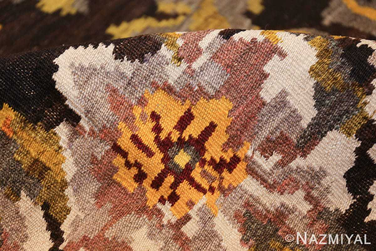 antique bessarabian kilim 46536 pile Nazmiyal