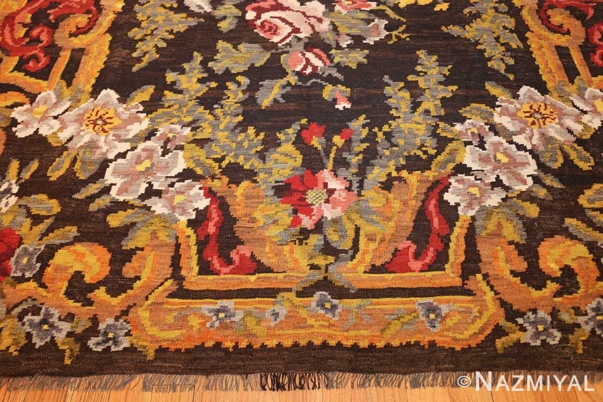 antique bessarabian kilim 46536 top Nazmiyal