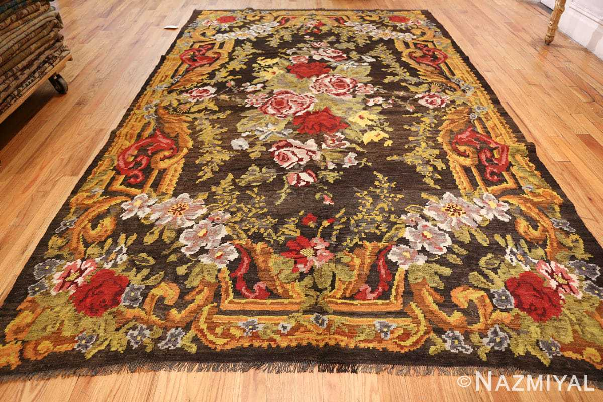 antique bessarabian kilim 46536 whole Nazmiyal