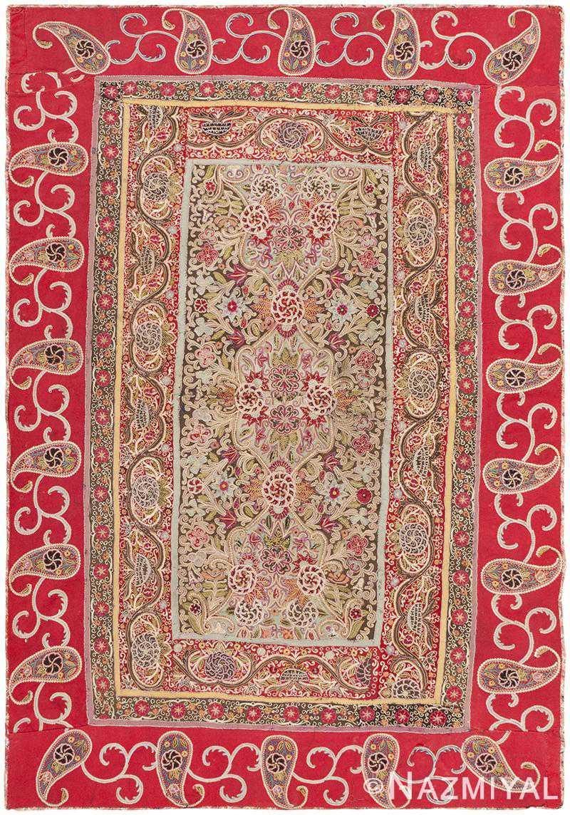 Antique Persian Textile 46521 Detail/Large View
