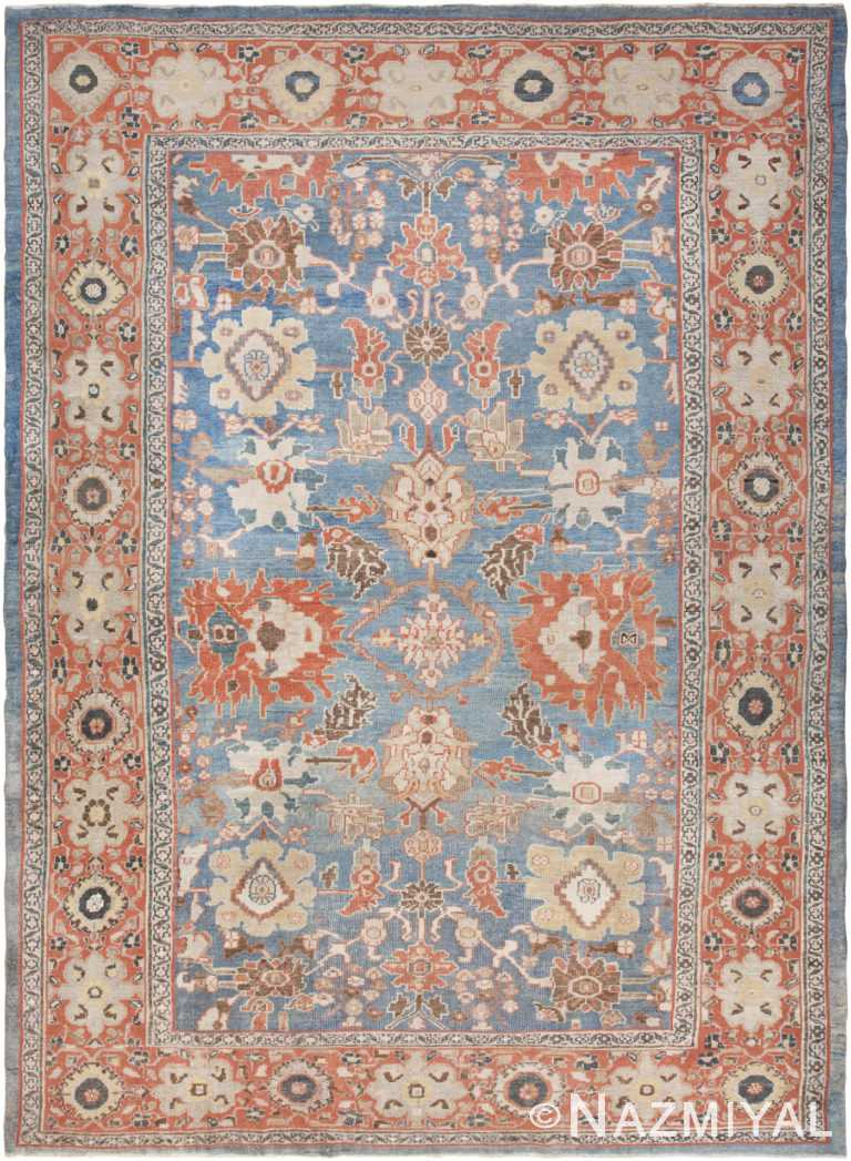 Antique Persian Ziegler Sultanabad Rug 46564