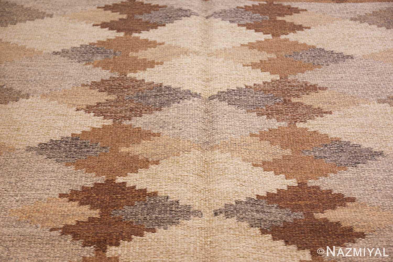 vintage swedish rug 46537 middle Nazmiyal