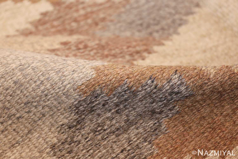 vintage swedish rug 46537 pile Nazmiyal