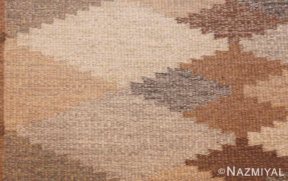 vintage swedish rug 46537 shape Nazmiyal