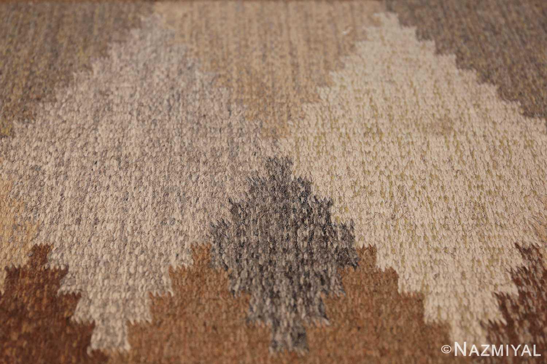 vintage swedish rug 46537 texture Nazmiyal