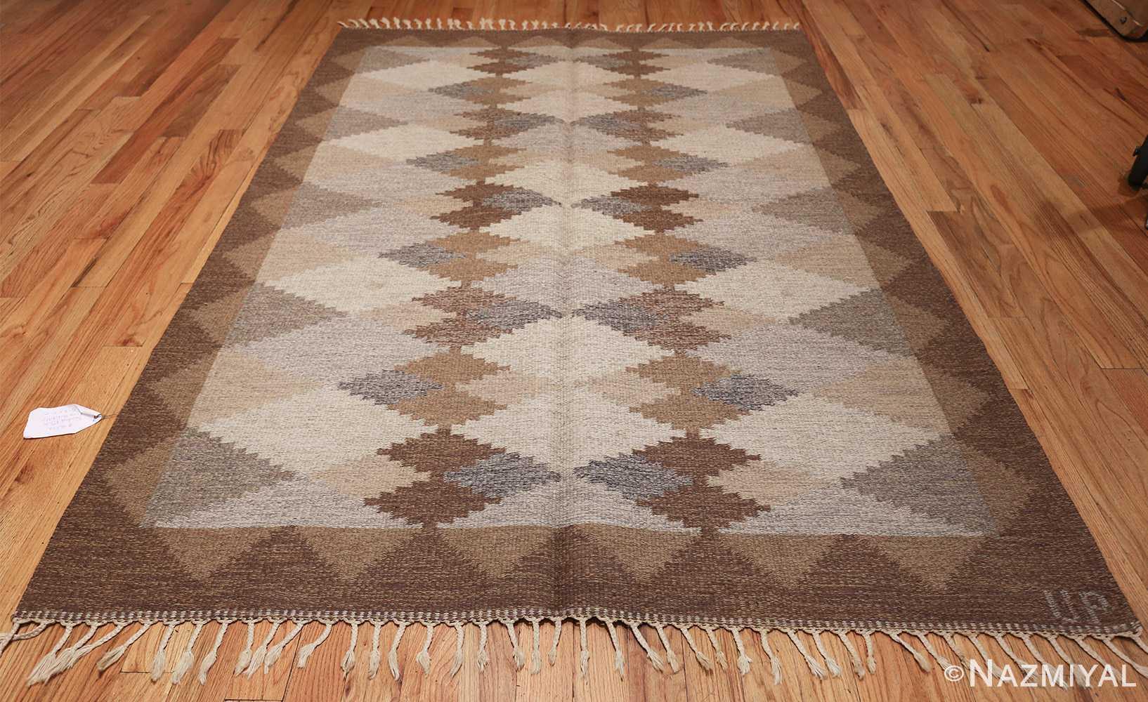 vintage swedish rug 46537 whole Nazmiyal