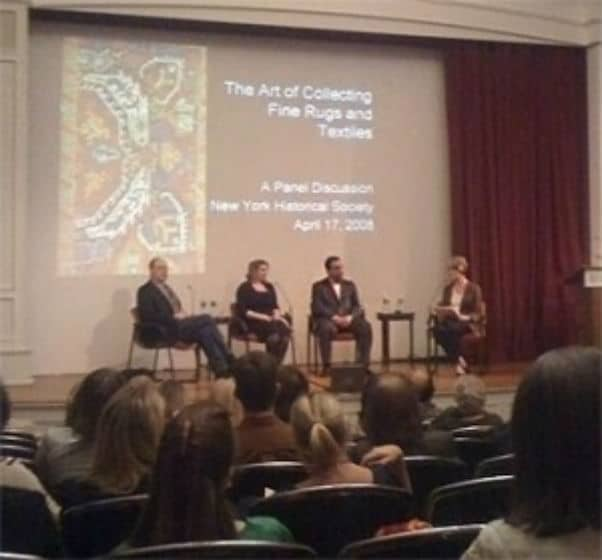 Antique Rug Expert Panel Discussion with Jason Nazmiyal by nazmiyal